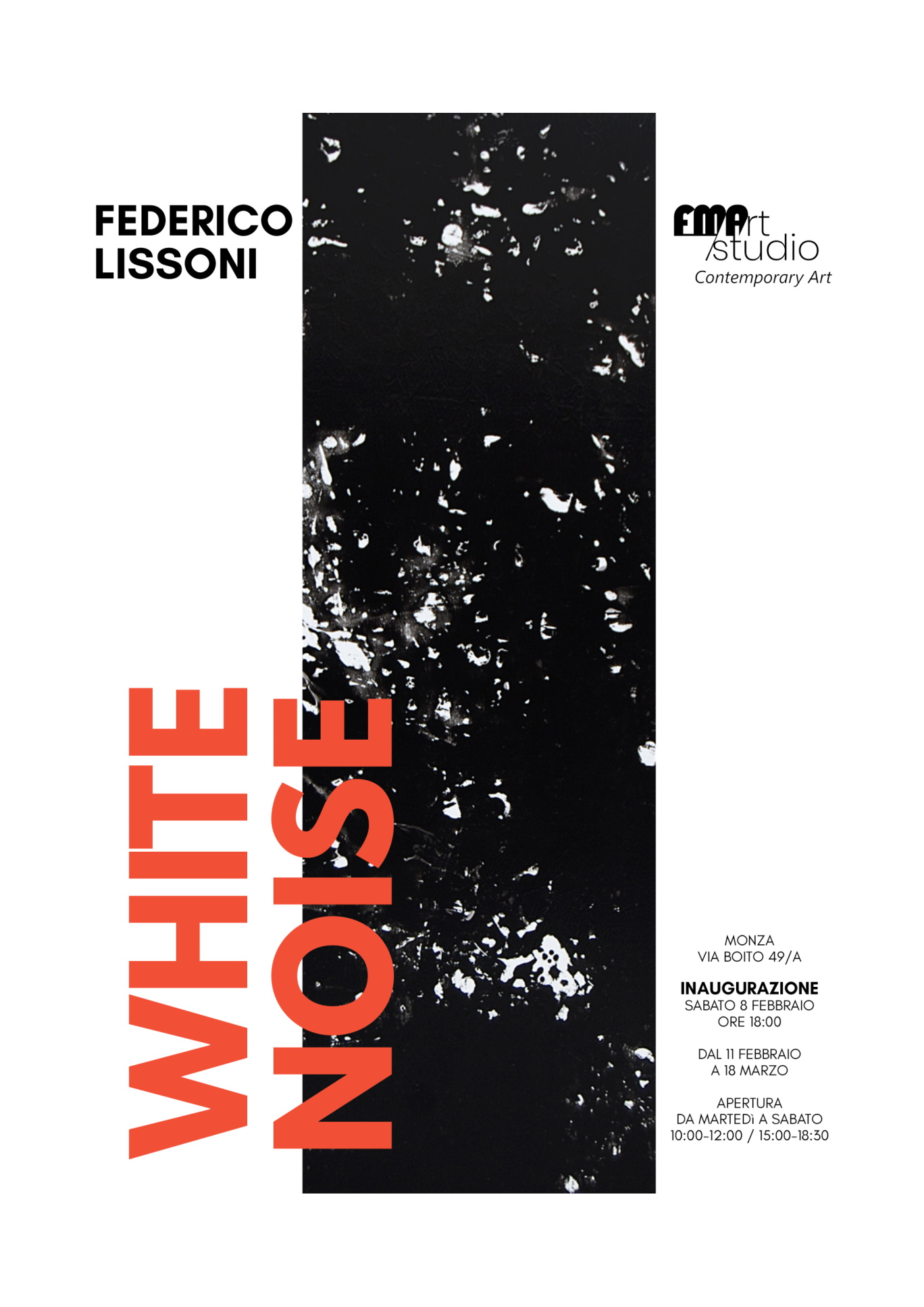 Federico Lissoni <br> White Noise